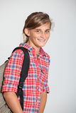 Teenaged girl. Closeup of smiling young teenager Royalty Free Stock Photos