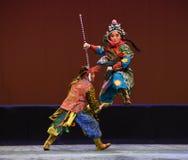 """ teenager†Пекина Opera""""Yue кураж-детей лошади Стоковое Фото"""