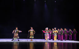 """ teenager†Пекина Opera""""Yue мирных исход-детей Стоковое фото RF"""