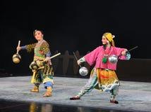 """ teenager†Пекина Opera""""Yue молотк-детей конкуренции Wushu Стоковая Фотография RF"""