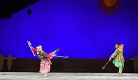 """ teenager†Пекина Opera""""Yue против-детей боя Стоковое фото RF"""
