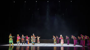 " teenager†Пекина Opera""Yue 2 прощани-детей сторон Стоковое Изображение RF"