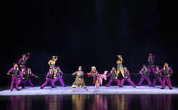 " teenager†Пекина Opera""Yue manchu войск-детей Стоковое фото RF"