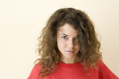 The teenager Royalty Free Stock Images