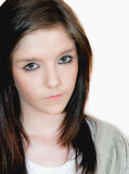 Teenager. Portrait of a teenage girl Royalty Free Stock Photos