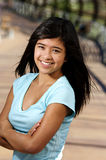Teenager. A teen smiling for her portrait Royalty Free Stock Photo