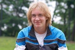Teenager. Attractive sixteen year old teen boy Stock Image