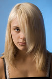 Teenager. From the blond the hair Stock Photo