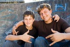 Teenager Stockfotografie