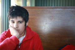 Teenager alesato Fotografie Stock Libere da Diritti