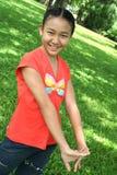 Teenager asiatico Fotografia Stock Libera da Diritti
