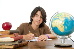 Teenager back to school Stock Images