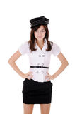 Teenager in with black cap Stock Photography
