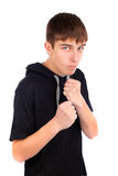 Teenager boxer Royalty Free Stock Images