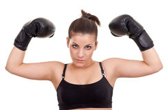Teenager Boxer Royalty Free Stock Photography