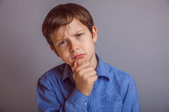 Free Teenager Boy 10 Years Of European Appearance Royalty Free Stock Photography - 48858817