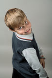 Teenager boy closeup Royalty Free Stock Photography