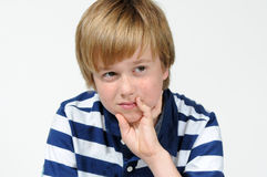 Teenager boy Royalty Free Stock Photos