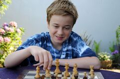 Young chess player hopes to win