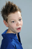 Teenager. Boy  with punk   hairstyle Stock Photo