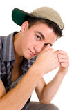 Teenager boy student Stock Image