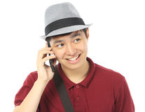 Teenager Calling Stock Image