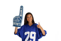 Teenager Cheering Royalty Free Stock Images