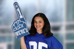 Teenager Cheering Stock Photos