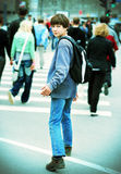 Teenager in the City Stock Photography