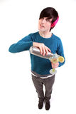 Teenager cocktail Stock Photo