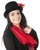 Teenager con il cappello a cilindro Immagine Stock