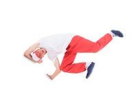 Teenager dancing break dance Stock Photos
