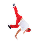 Teenager dancing breakdance in action Royalty Free Stock Photos