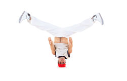 Teenager dancing breakdance Royalty Free Stock Photos