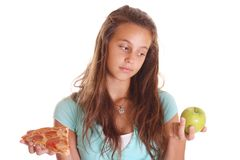 Teenager deciding Royalty Free Stock Images