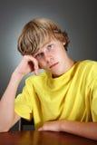 Teenager depresso fotografie stock libere da diritti