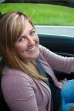Teenager Driving Stock Image