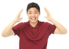 Teenager emozionante Fotografia Stock