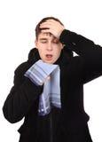 Teenager with Flu Stock Photos