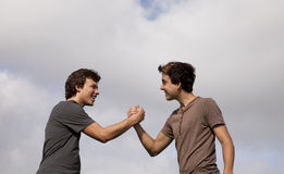 Teenager friendship Royalty Free Stock Image