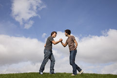 Teenager friendship Royalty Free Stock Images
