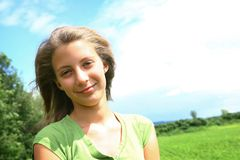 Teenager girl Royalty Free Stock Photography