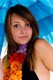 Teenager girl in bikini Stock Photography