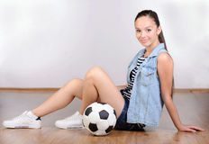 Teenager girl Royalty Free Stock Images