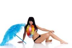 Teenager Girl In Bikini Stock Photo