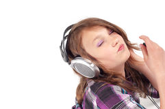 Teenager girl in studio Stock Image
