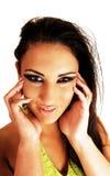 Teenager girl. Stock Photos