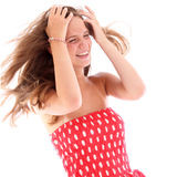 Teenager having a good time Royalty Free Stock Photography