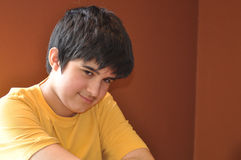 Teenager impertinente Fotografia Stock Libera da Diritti