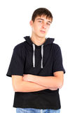 Teenager isolated Royalty Free Stock Images